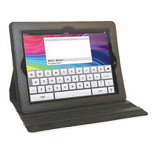 Overstock on iPad3 Sublimation Polyester Cover with Stand, Black, 50 per case