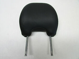 2007 VOLVO S40 FRONT LEFT/RIGHT HEADREST BLACK LEATHER OEM 04 05 06 08 09 10