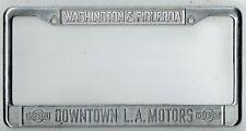 Los Angeles California Downtown LA Datsun Vintage JDM Dealer License Plate Frame