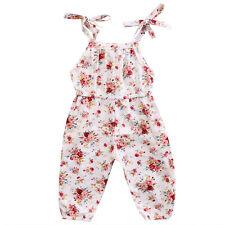Newborn Baby Kids Girl Infant Romper Jumpsuit Bodysuit Cotton Clothes Outfit Set