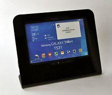 Galaxy Tab 3/4 10.1 Black Desktop Stand for Kiosk, Show Store Display, POS