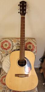 Fender CD60S Dreadnought Acoustic Guitar w/ Gigbag