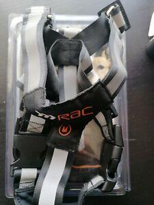 Medium Rac Dog Harness black and grey