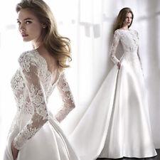 Spitze Brautkleid Hochzeitskleid Kleid Braut Langarm Babycat collection BC931