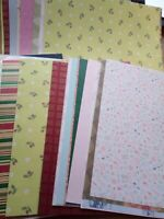 50 Mixed 12 x 12 Scrapbook Cardmaking (Paper Craft Sale) 12x12 Paper And Card