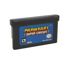 For Nintendo Game Boy Advance Mario Kart Super Circuit GBA Game Card Children