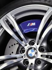 4 X BMW M Sport Badge Quality Brake Caliper Decals Stickers - white