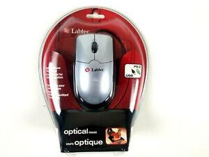 Labtec Optical Mouse PS/2 USB 2004 Sealed