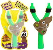 Slime Squishy Poo Face Flying Emoji Slingshot Target Novelty Joke Fun Kids Gift
