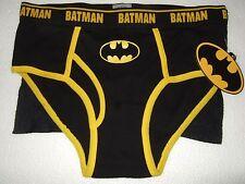 Men's Lg 36-38 Batman Super Hero Briefs & Removable Bat Cape Underwear DC Comics