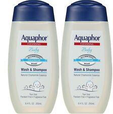 Pack of 2 - Aquaphor Baby Wash & Shampoo - 8.4 fl. oz.