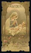 santino cromo-holy card S.LEGA n.9074 CARO GESU' BAMBINO