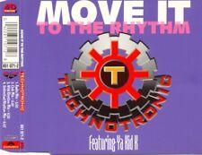 TECHNOTRONIC ft YA KID K - Move it to the rhythm 4TR CDM 1994 HIP HOUSE