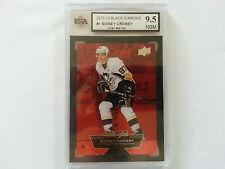 Sidney Crosby Black Diamond RUBY Card #66/100 KSA Graded 9.5!!!