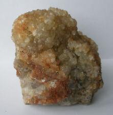 Large Quartz on Fluorite crystal Boulder 1.53kg