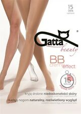 "Gatta ""BB Creme Effect"" 15 den Strumpfhose in golden (Haut)"