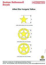 Techmod Decals 1/48 Allied Armor Star Insignia Yellow