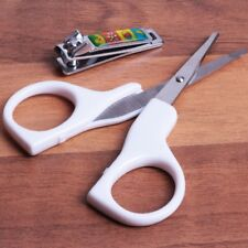 BABY NAIL CARE SET Scissors/Clippers Manicure Pedicure Kit Safe Grooming Cutters