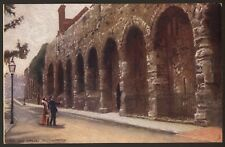 """Hampshire. Southampton. The Old Walls - 1904 Tuck's """"Oilette"""" Printed Postcard"""