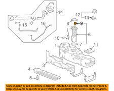GM OEM Vapor Canister-Fuel Tank Pressure Boost Sensor 12247409