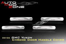00-06 GMC Yukon Chrome 4 Door Handle Lever Covers Center Cover Trim