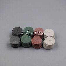 40 PCS Silicone Rubber Polishing wheels Dental Jewelry Rotary 4 Colors Polisher
