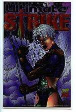 Ultimate Strike Comic #1 Holochrome Foil London Nights nm/m 1997 H7