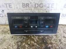 AUDI A4 2000-2004 DIGITAL CLIMATE CONTROL PANEL 8E0820043