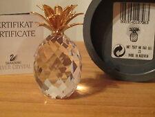 SWAROVSKI *NEW* Ananas doré petit Small Gold Pineapple 012726 H.6,4cm