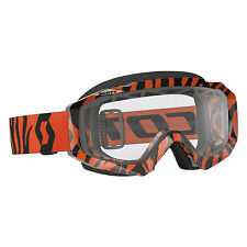 Scott USA Orange Hustle Enduro Goggle Works Lens Motocross Off-Road MX/ATV/UTV