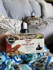 "8.5"" Dome Lamp All Reptiles Ceramic socket up to 150W Watt bulbs & heat emitters"