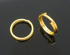 Double Loop O-ring Split Open Jump Rings Link Connector Hoop DIY Makings 4-14mm