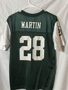 Reebok New York Jets Curtis Martin Green Jersey Youth XL NFL Players Inc.