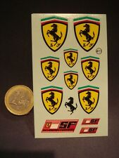 DECALS GRANDS ECUSSONS FERRARI - T411