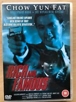 Rich and Famous DVD 1997 Hong Kong Tragic Hero Action Film Movie w/ Chow Yun Fat