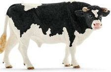NEW Schleich 13796 Holstein Bull Farm Life Nature Black & White Male Cow Country