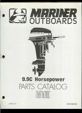 Orig 1980 Mariner 9.9C HP Outboard Motor/Engine Illustrated Parts List Catalog