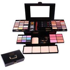 Miss Rose 58 Color Makeup Box Palette Eye Shadow Blush Powder Lipstick Gold B3F3