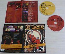 CD BONUS + DVD PAL DIGIPACK MUSIQUE LES WRIGGLES EN TOURNEZ 2009 TOUTES ZONE