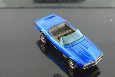Custom Firebird Hong Kong BLUE clean Original  Unrestored Hot Wheels Redline: