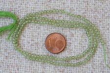 Peridot(Olivin)-Strang(Kugel 2,5 mm) Q-5713/G