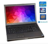 """Dell Precision M6700 i7-3740QM 8GB 256gb SSD 17,3"""" FHD FullHD RAID NVIDIA"""
