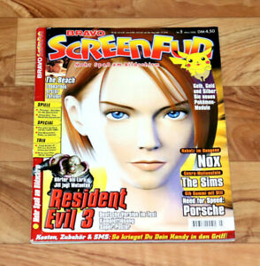2000 Video Gaming Magazine Resident Evil 3 Tomb Raider 4 Castlevania Crazy Taxi