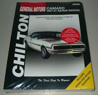 Reparaturanleitung Repair Manual Chevrolet Camaro Baujahre 1967 - 1981 Buch!
