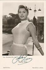 Ufa-Film-Foto Karte -Sophia Loren signiert Nr. FK 1591