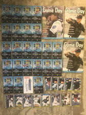 Everett Aquasox Auto Autograph Lot Schedule Gameday Magazine Rob Mummau 2013