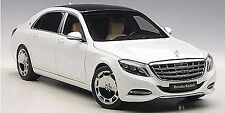 AUTOART MERCEDES BENZ MAYBACH S CLASS S600 WHITE 1:18 *New Item!