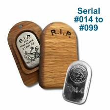 2019 Skeleton Tombstone with Wooden Box - Limited Edition - Unc.- Just Released