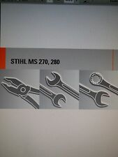 Stihl MS460 MS460C Chainsaw Factory Service Manual 2005-2010