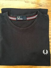 Mens Small Bkack Fred Perry T Shirt